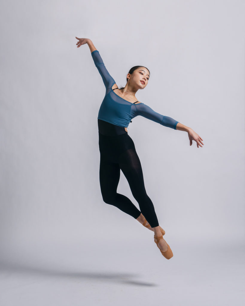 dance photography of leaping ballerina