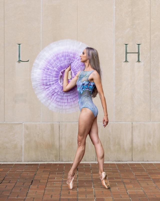 creative dance portrait